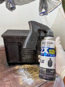 Rustoleum Black Spray Paint Flat