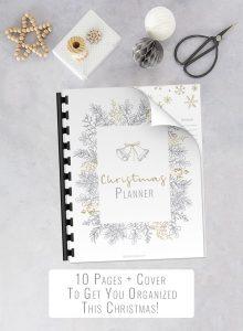 Minimal Christmas Planner
