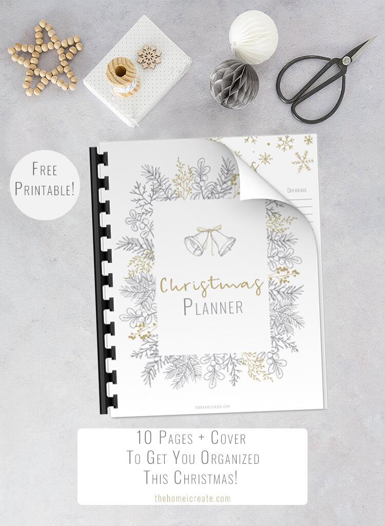 Modern Christmas Planner